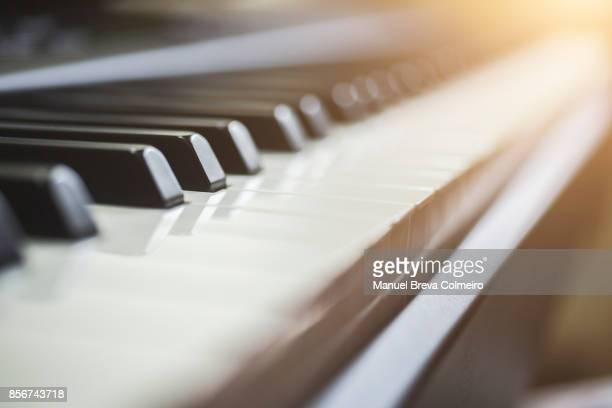 piano - keyboard instrument stock photos and pictures