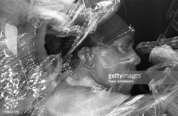 LEEUWARDEN NETHERLANDS MARCH 10 piano player and Orchestra leader Sun Ra performs live on stage at Jazz Middelheim in Leeuwarden The Netherlands on...