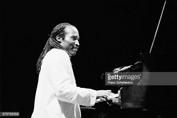 Piano player David Kikoski performs on May 26th 1995 at the BIM huis in Amsterdam, Netherlands.