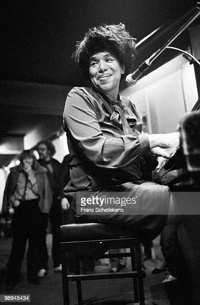 Piano player Dorothy Donegan performs live on stage at Bimhuis in Amsterdam, Netherlands on March 25 1981