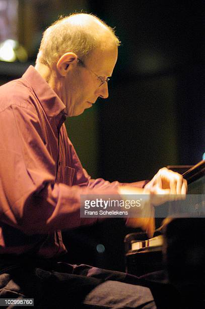 Piano player Guus Janssen performs live on stage at Bimhuis in Amsterdam, Netherlands on December 07 2002