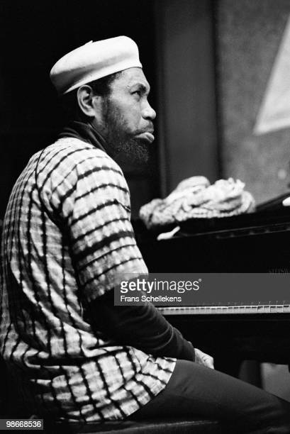 Piano player Ron Burton performs live at Bimhuis in Amsterdam, Netherlands on November 17 1983