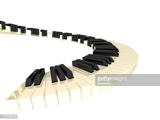 ピアノ-スパイラル