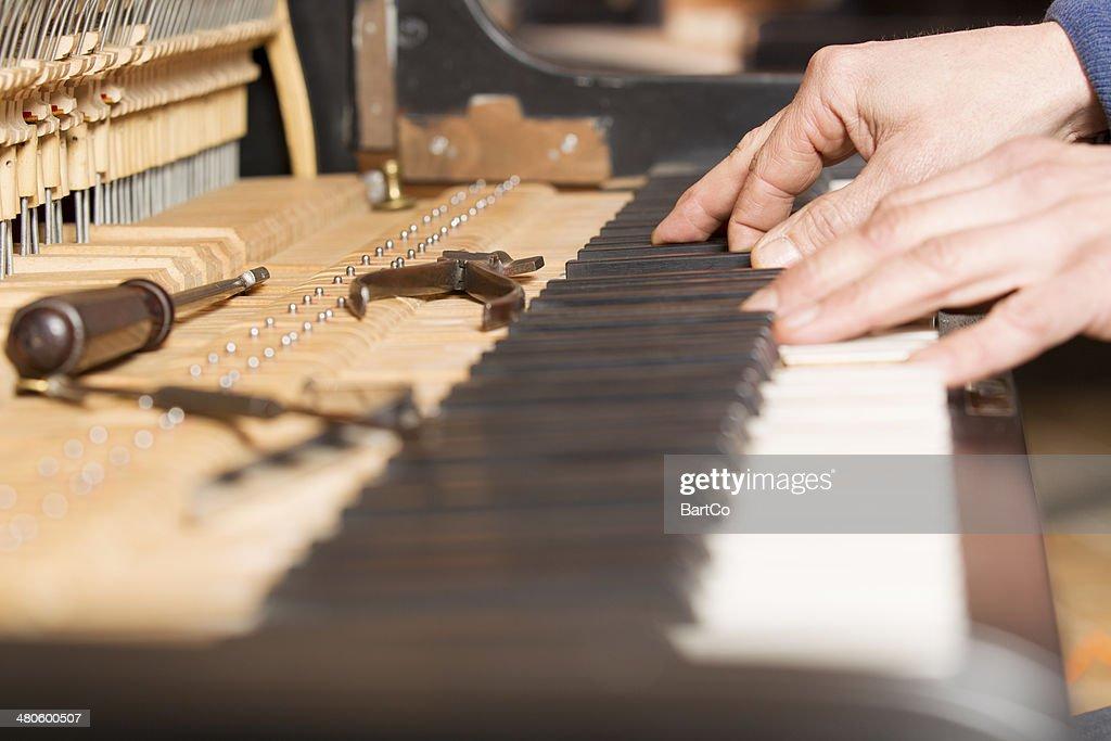 Piano tuning tool : Stock Photo