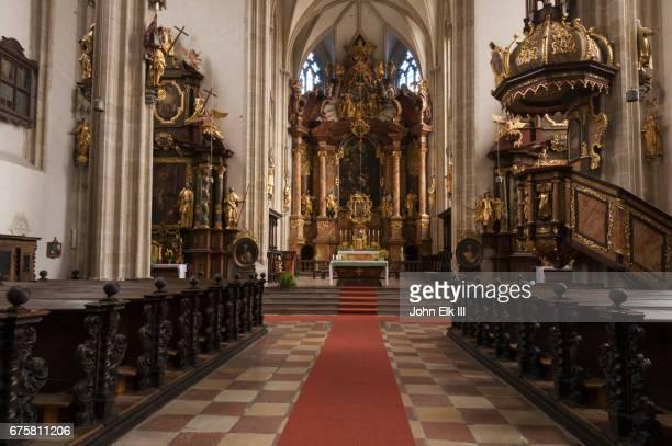 Piaristenkirche church, nave