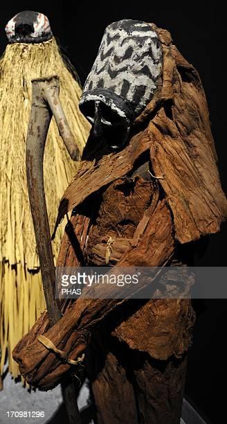 Piaroa's ceremonial masks Spirit of the Forest monkey and Peccary mask 1960 Venezuela Ethnographic Museum Budapest Hungary