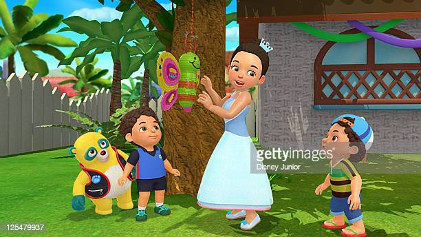 OSO 'Pi–ata Royale' Oso helps Luis and Miguel choose fill and hang a pi–ata for their sister Mariana's quincea–era Freddy Rodriguez guest stars as...