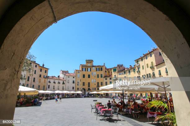 Piazza Anfiteatro, Lucca, Tuscany