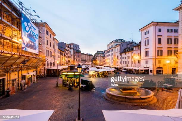 Piazza Campo de'Fiori in Rom, Italien
