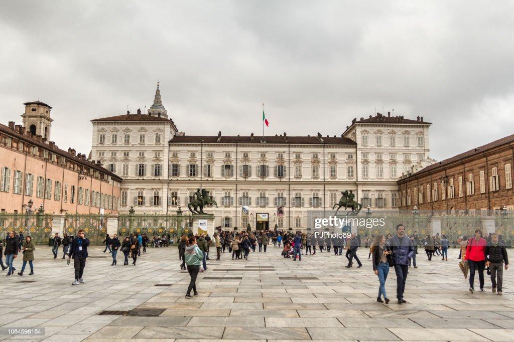 Piazza Castello - Turin : Foto stock