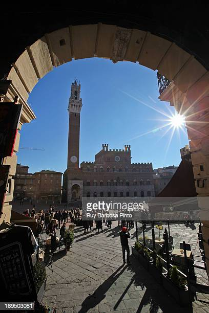 CONTENT] Piazza del Campo is the principal public space of the historic center of Siena Tuscany Italy and is regarded as one of Europe's greatest...