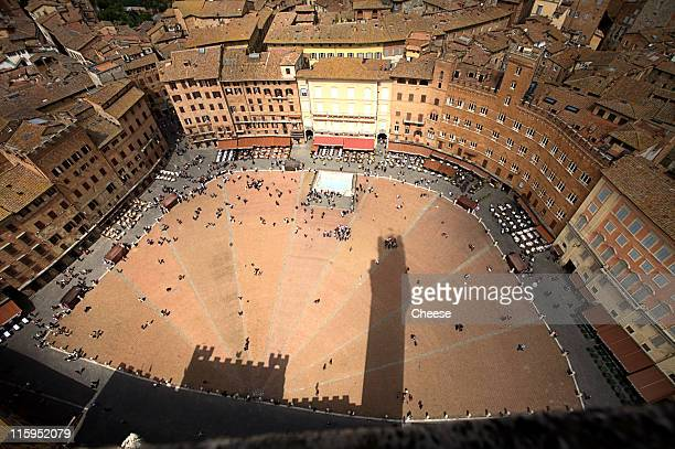 Piazza Del Campo , Siena