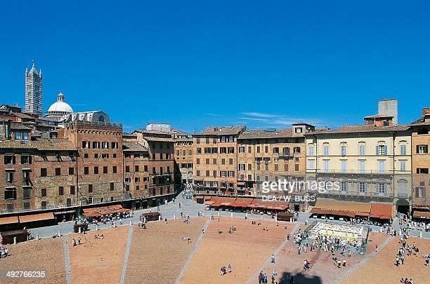 Piazza del Campo Siena Tuscany Italy