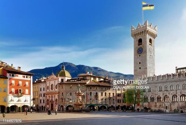 Piazza del Duomo, Trento, Trentino-Alto Adige, Italy.