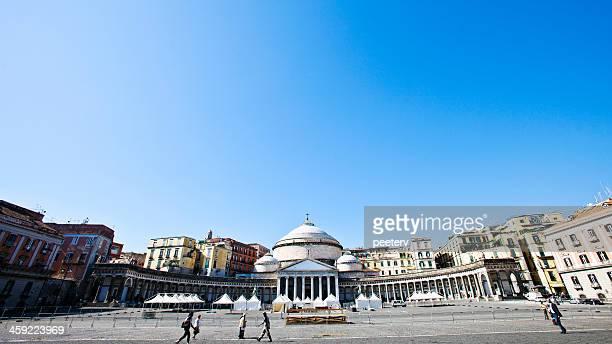 piazza del plebiscito and san carlo theatre. - piazza san carlo stock pictures, royalty-free photos & images