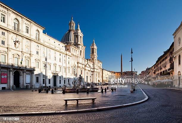 Piazza Navona at sunrise
