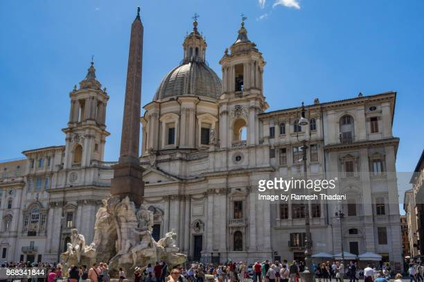 Piazza Navona - multiple attractions