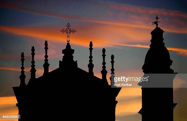 piazza san carlo,santa christina church - piazza san carlo stock pictures, royalty-free photos & images