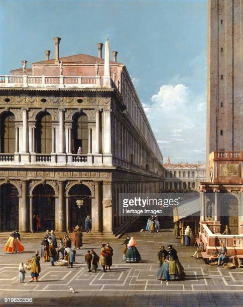 Piazza San Marco 1753 Found in the Collection of Alnwick Castle