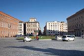 piazza venezia central rome italy