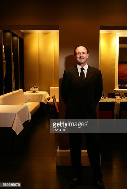 Pic shows Chris Young of Jacques Reymond. 10 May 2006. THE AGE NEWS Picture by SIMON SCHLUTER.