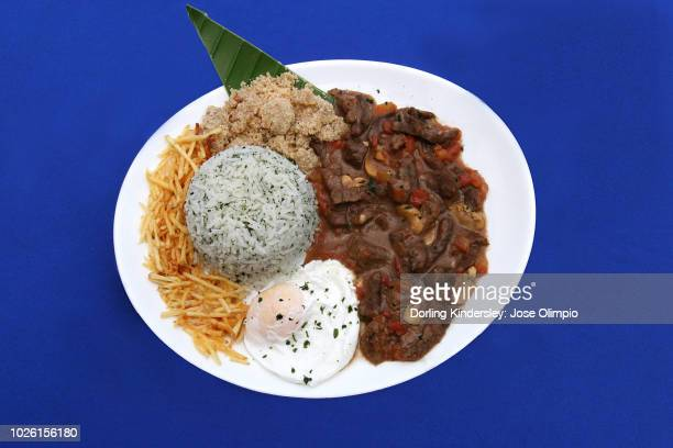 Picadinho, Brazilian beef stew with rice and egg