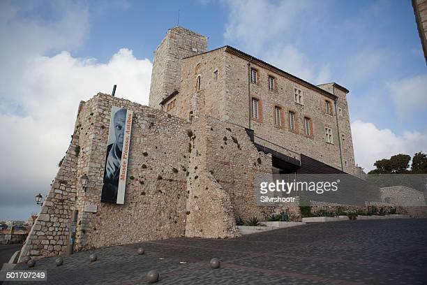 picasso museum in antibes, france - antibes stock photos and pictures