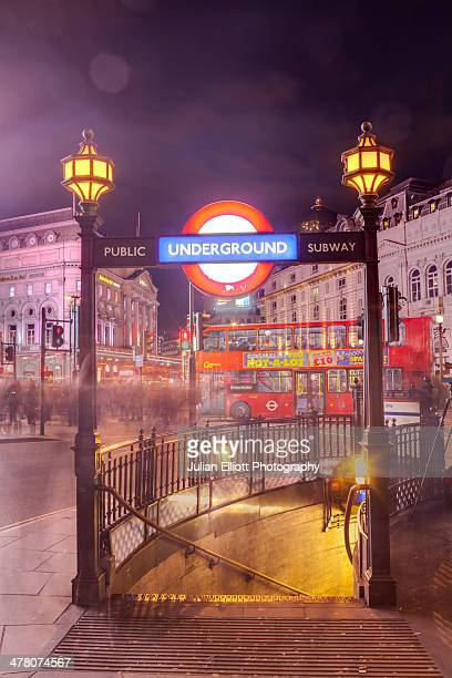 piccadilly circus in the city of london. - building entrance stock pictures, royalty-free photos & images