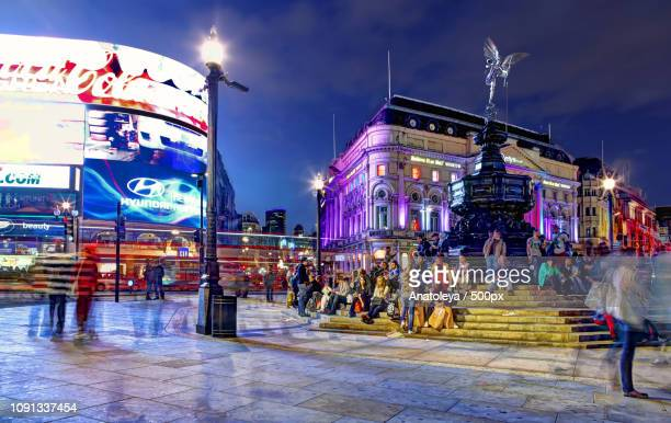 Piccadilly Circus in the Evening