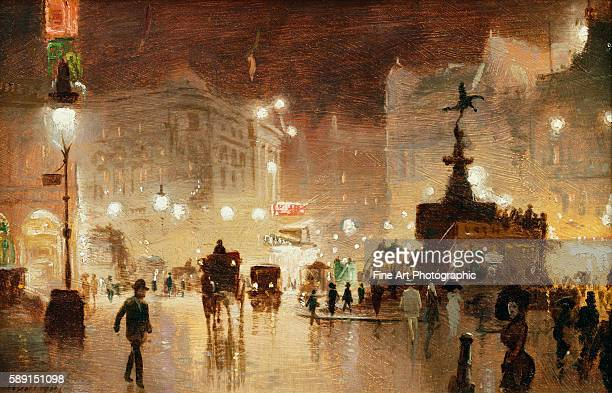 Piccadilly Circus London by George HydePownall