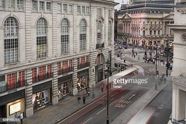 piccadilly - west end london stock photos and pictures