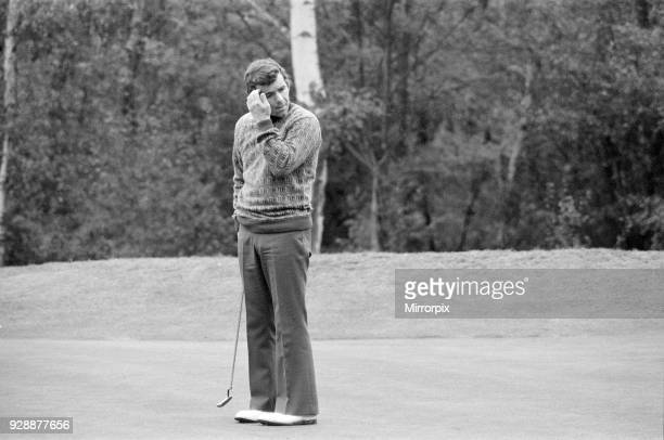 Piccadilly World Match Play Championship at Wentworth, Friday 11th October 1974. Tony Jacklin.