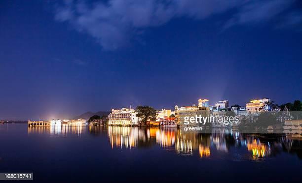 Pichola Lake Night view