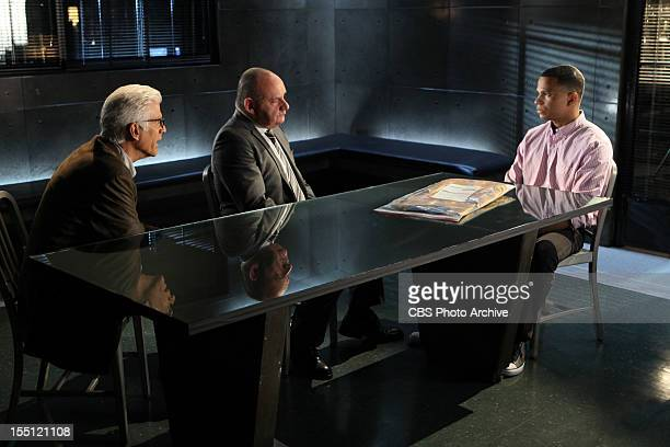 "Pick and Roll"" -- D.B. Russell and Captain Jim Brass speak to TJ Fair about the case, on CSI: CRIME SCENE INVESTIGATION, Wednesday, November 7 on the..."