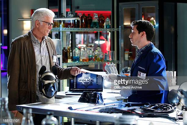 "Pick and Roll"" -- D.B. Russell consults with Henry Andrews on his findings, on CSI: CRIME SCENE INVESTIGATION, Wednesday, November 7 on the CBS..."