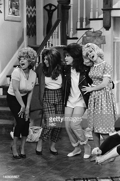 LIFE 62 Pick Up Episode 18 Pictured Kim Fields as Dorothy 'Tootie' Ramsey Mindy Cohn as Natalie Green Nancy McKeon as Joanne 'Jo' Polniaczek Lisa...