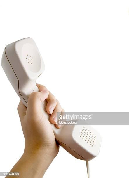 Wählen Sie das Telefon