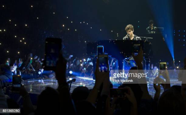 Pickering's Shawn Mendes plays the B stage at the Air Canada Centre in Toronto on his Illuminate World Tour