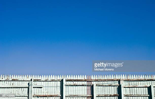 picket fence - picket stock pictures, royalty-free photos & images