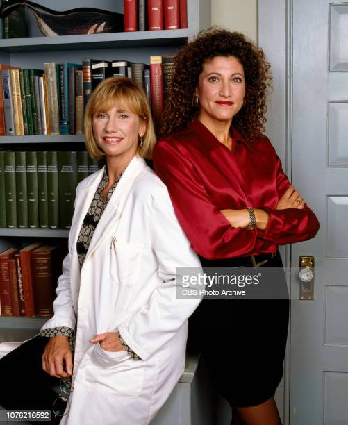 Picket Fences, a CBS television drama about residents and characters in a small town. Pictured from left is Kathy Baker , Amy Aquino . Premiere...