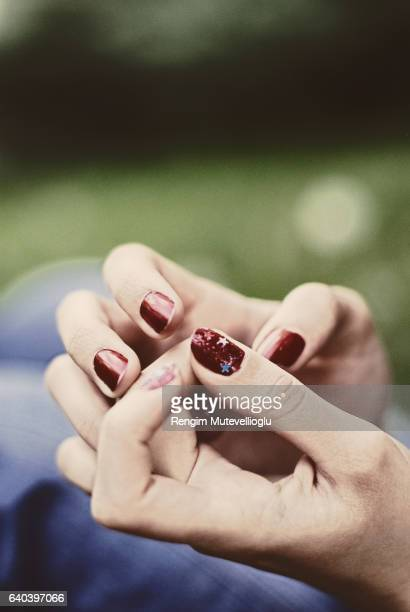 Picking nails