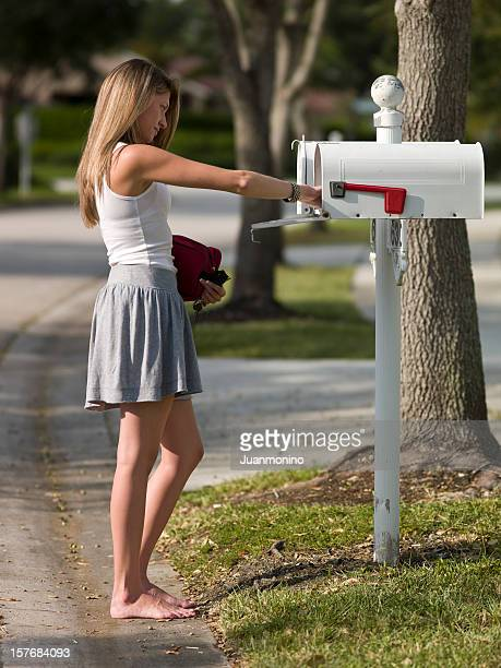 picking up the mail