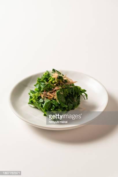pickled rapeseed - nimono bildbanksfoton och bilder