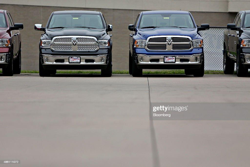 Key Auto Mall >> Ram Pickup Trucks Sit On Display At The Key Auto Mall Car Dealership