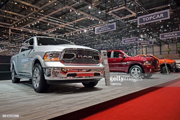 RAM pickups on the exposition