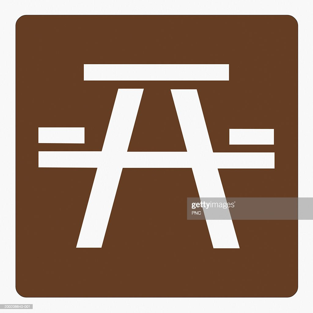 Picnic area road sign stock photo getty images picnic area road sign stock photo biocorpaavc