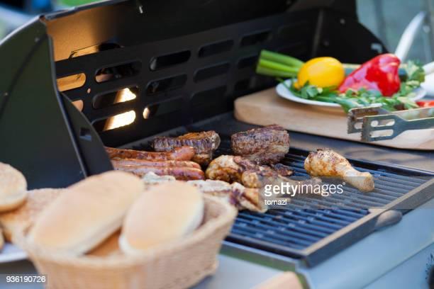 Picknick grillen