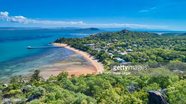 picnic bay,magnetic island,queensland,australia - クイーンズランド州タウンズビル ストックフォトと画像