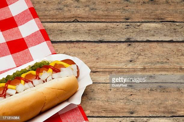 Hotdog pique-nique