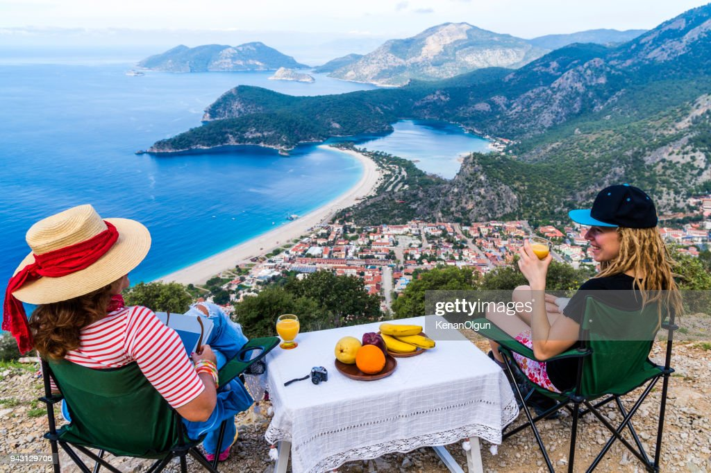 Picnic in the Oludeniz : Stock Photo